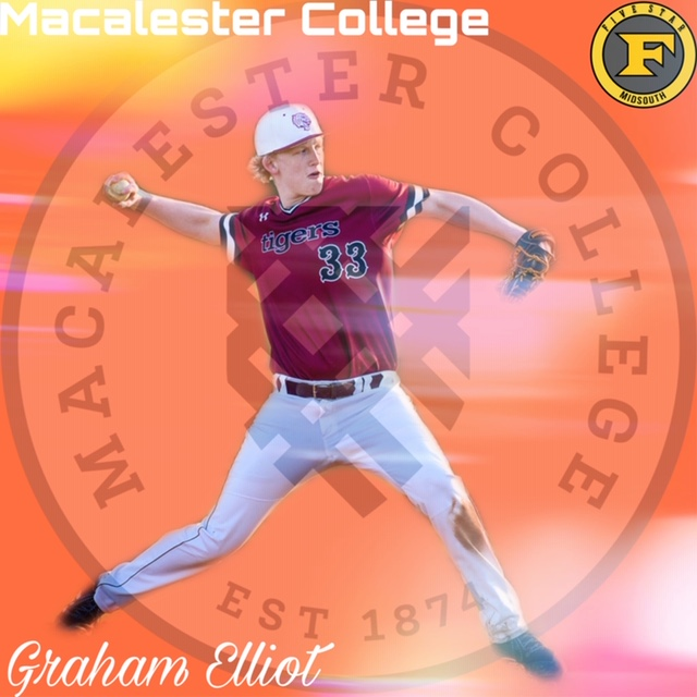 Graham Elliot commits to Macalester College