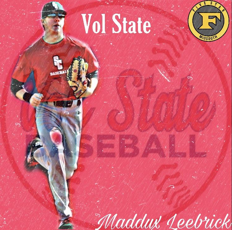 Maddux Leebrick commits to Vol State