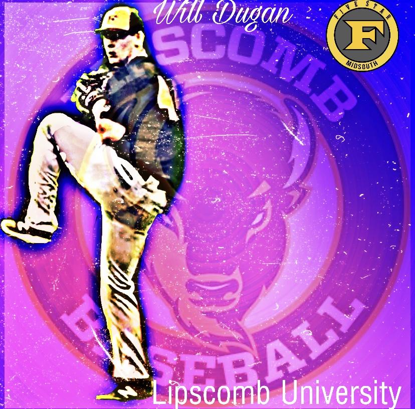 Will Dugan commits to Lipscomb University