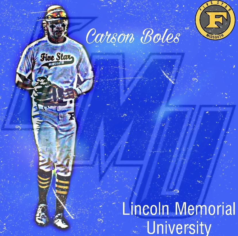 Carson Boles commits to Lincoln Memorial