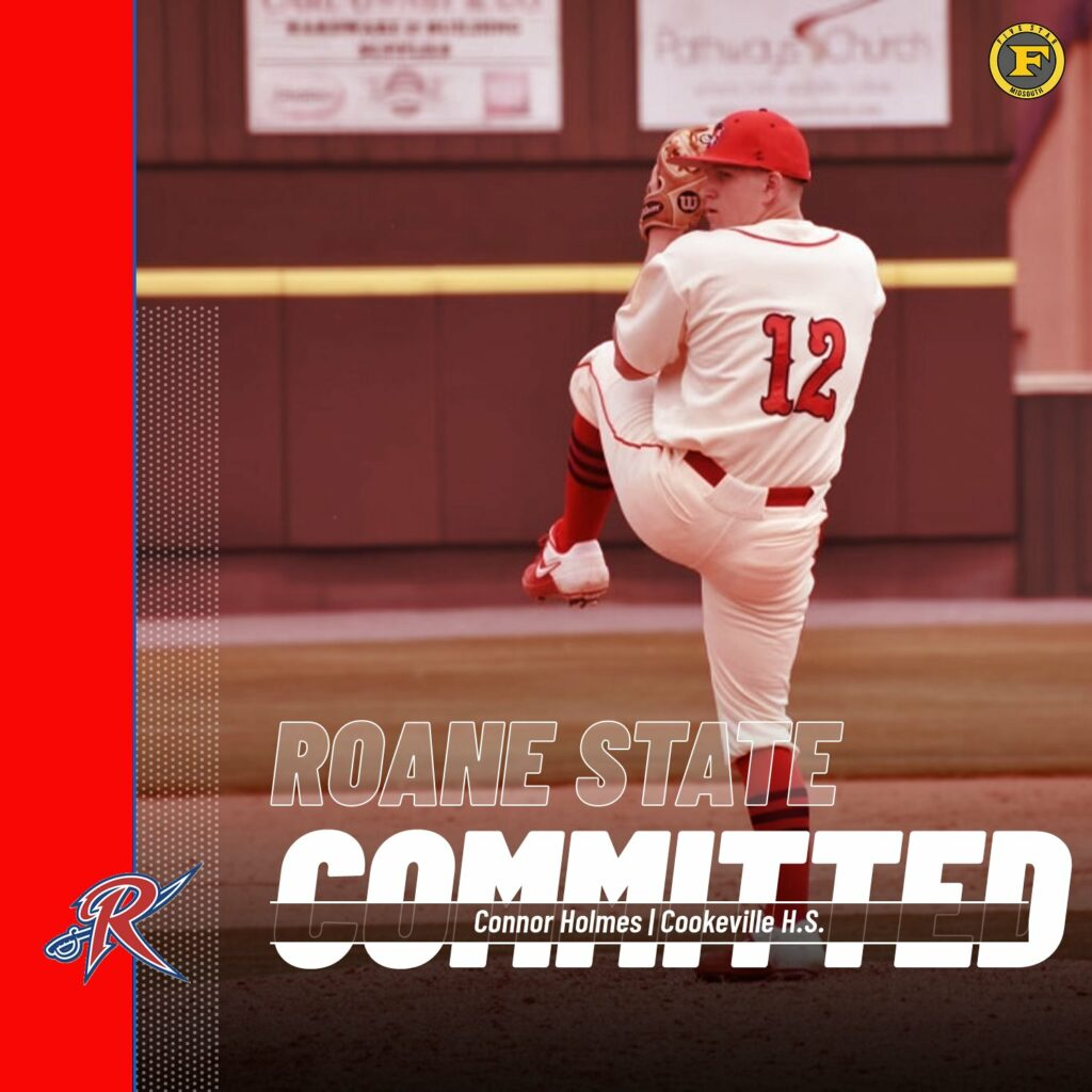 Connor Holmes to Roane State