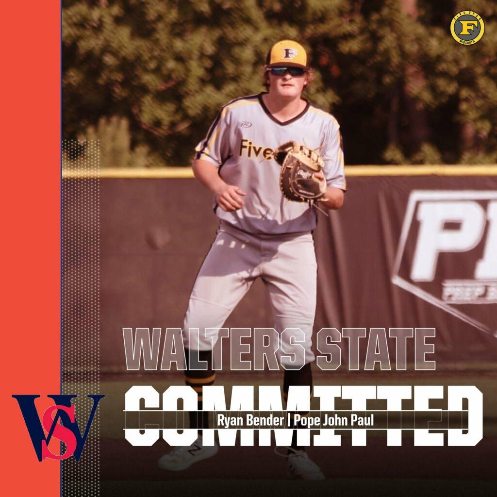 Ryan Bender to Walters State