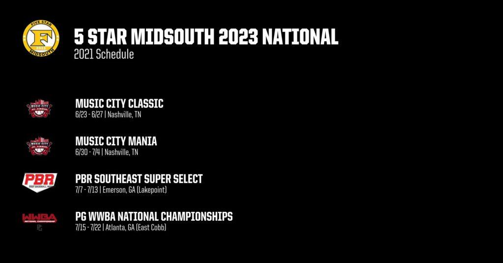 2023 Schedule