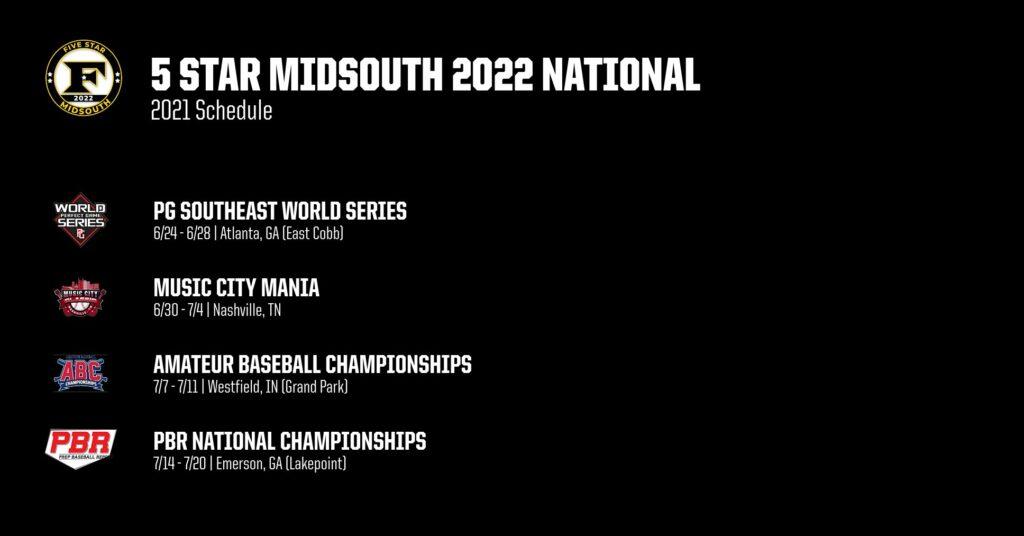 2022 Schedule