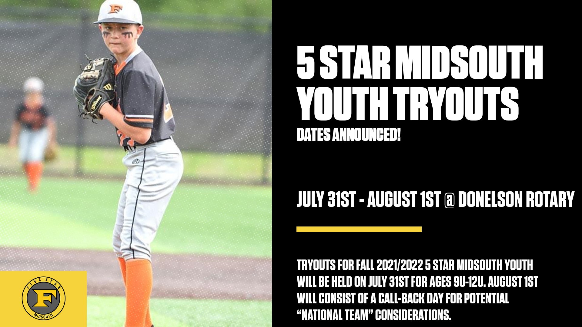 Youth Tryouts